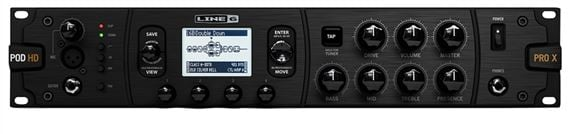 Line 6 POD HD Pro X Rackmount Guitar Effects Processor