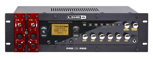 Line 6 POD X3 Pro Rackmount Guitar Effects Processor
