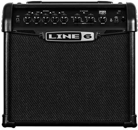 Line 6 Spider Classic 15 Combo Modeling Amplifier 1x8 15 Watts