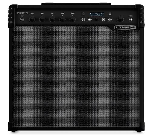 Line 6 Spider V120 Electric Guitar Combo Amplifier 1x12 120 Watts