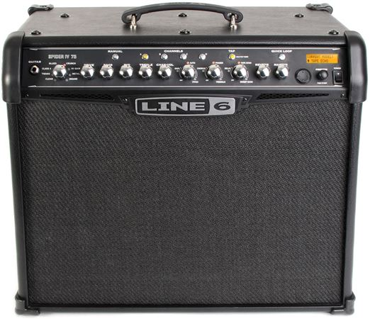 Line 6 Spider IV 75 Guitar Combo Amplifier