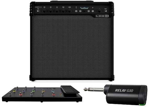 Line 6 Spider V120 Wireless Performance Package