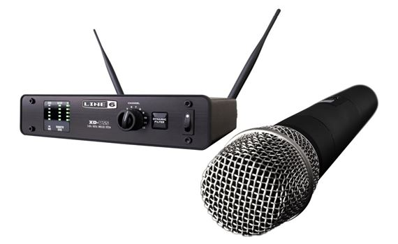 Line 6 XDV55 Digital Handheld Wireless Microphone System
