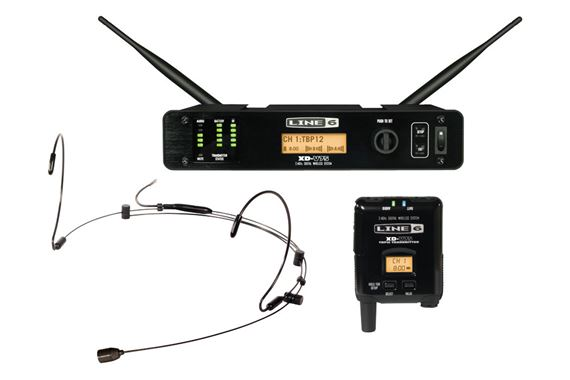 Line 6 XDV75HS Digital Headset Wireless Microphone System