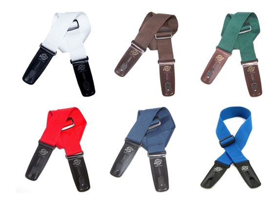 Lock It Straps 2 Inch Nylon Guitar Strap
