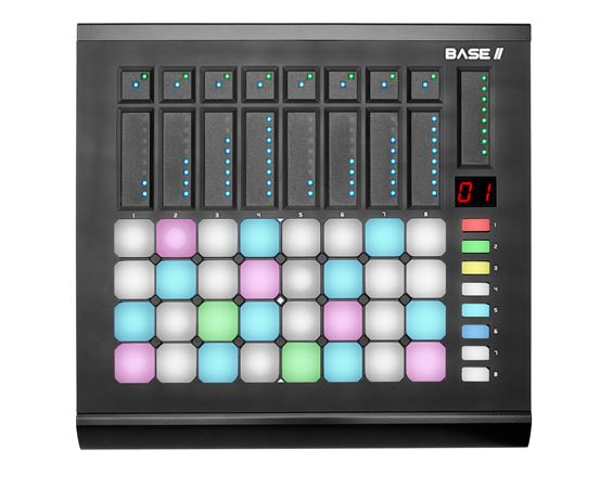 Livid Base II USB MIDI Pad and Fader Performance Control Surface