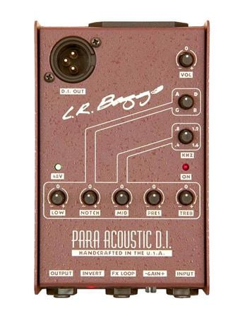 LR Baggs ParaAcoustic DI Active Direct Box and Preamp