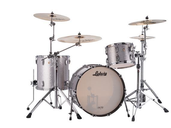 Ludwig Classic Maple 3 Piece Shell Kit Drum Set