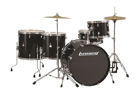 Ludwig Accent Power 5 Piece Complete Drum Set