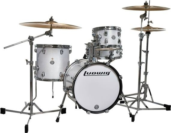 Ludwig Breakbeats Questlove 4 Piece Shell Kit Drum Set