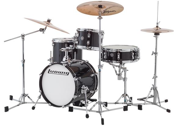 Ludwig LC179XX Breakbeats Questlove Compact Shell Kit