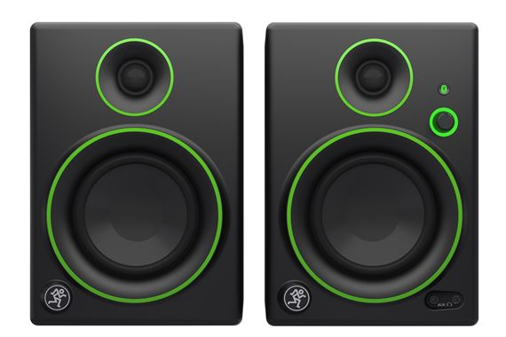 Mackie CR4BT 4 Inch 2 Way Powered Studio Monitors with Bluetooth Pair