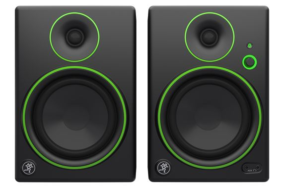 Mackie CR5BT 5 Inch 2 Way Powered Studio Monitors with Bluetooth Pair