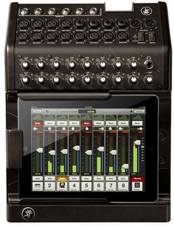 Mackie DL1608 16 Channel iPad Controlled Digital Mixer