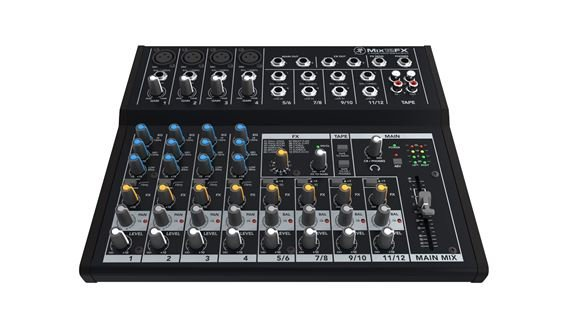 Mackie Mix12FX 12 Channel Compact Mixer with Effects