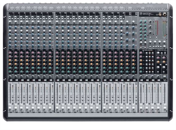 Mackie Onyx 24 Channel 4 Bus Mixer