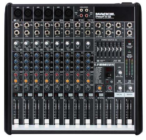 Mackie ProFX12 USB Mixer
