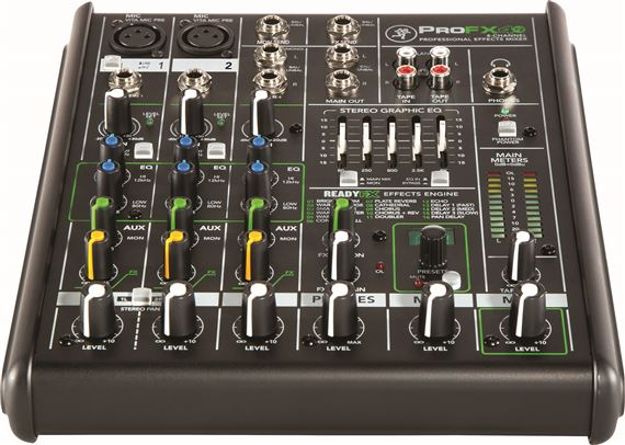 Mackie ProFX4v2 4 Channel Professional FX Mixer
