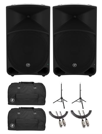 "Mackie Thump15 1000 Watt 15"" Powered Loudspeaker Pair Pack"