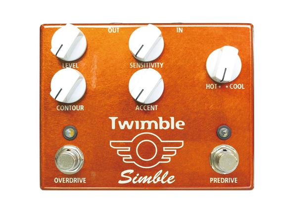 Mad Professor Twimble Overdrive and Boost Pedal