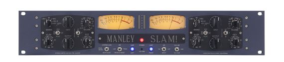 Manley SLAM Stereo ELOP And FET Limiter And Tube Microphone Preamp