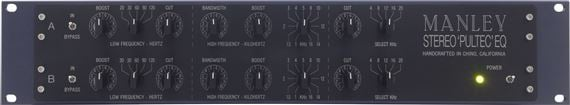 Manley Enhanced Stereo Pultec EQP-1A All Tube Equalizer