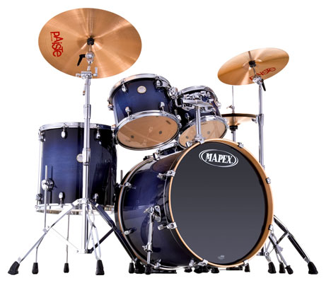 Mapex Meridian Maple SRO 5 Piece Shell Kit Drum Set