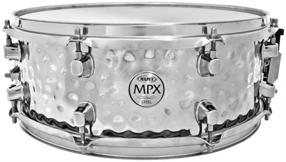 Mapex MPX Hammered Steel Snare Drum