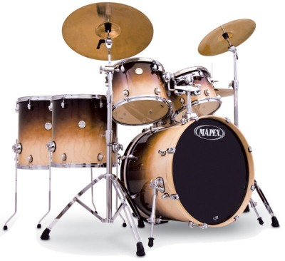 Mapex Meridian Birch Studio 6 Piece Shell Kit Drum Set