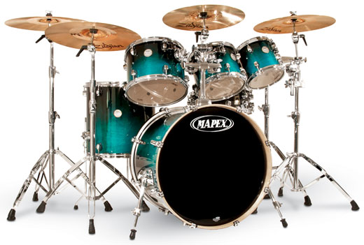 Mapex Meridian Birch Studio 7 Piece Shell Kit Drum Set