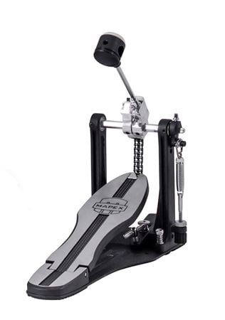 Mapex Mars P600 Black Single Bass Drum Pedal With Plate