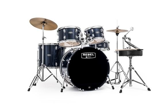 Mapex Rebel SRO Complete 5 Piece Drum Set