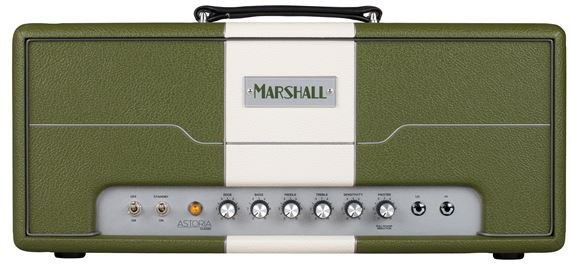 Marshall AST1H Astoria Single Channel Guitar Amplifier Head 30 Watts