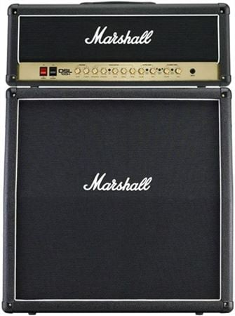marshall dsl100 head and mx412a cab guitar amp half stack. Black Bedroom Furniture Sets. Home Design Ideas