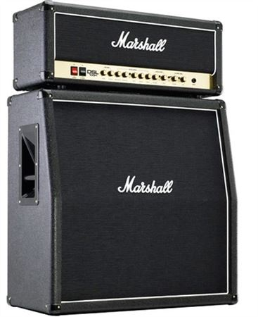 Marshall DSL100 Head and JCM1960A 4x12 Cab Guitar Amp Stack