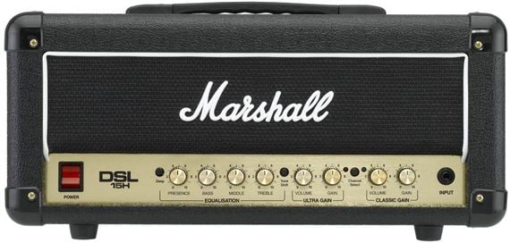 Marshall DSL15H Dual Super Lead Guitar Amplifier Head
