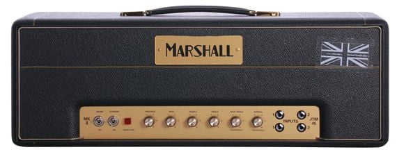 Marshall JTM45 Block Logo Guitar Amplifier Head