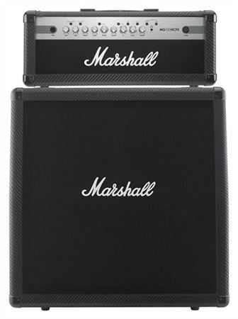 Marshall MG100HCFX Head and MG412ACF Cab HalfStack