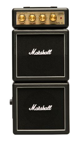 Marshall MS4 Micro Full Stack Battery Powered Guitar Amp