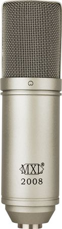 MXL 2008 Cardioid Large Diaphragm Condensor Microphone