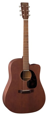 Martin DC15ME Acoustic Electric Guitar with Case