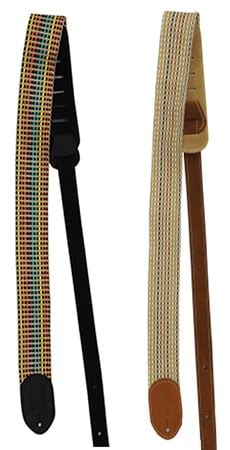 Martin 18A0066 Woven Guitar Strap with Leather Ends