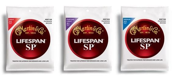 Martin SP Lifespan Phosphor Bronze Acoustic Guitar Strings