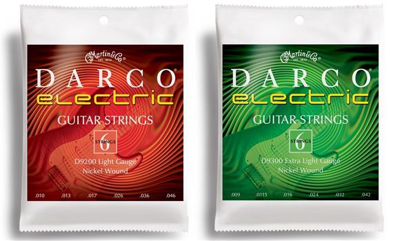 Martin Darco Nickel Wound Electric Guitar Strings