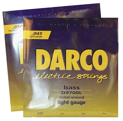 Darco Bass Strings Medium Long Scale Round Wound