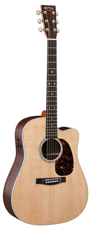 Martin DCPA4 Rosewood Acoustic Electric Guitar with Case