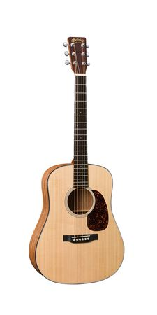 Martin DRJA Dreadnought Junior A Sapele Left Handed with Bag