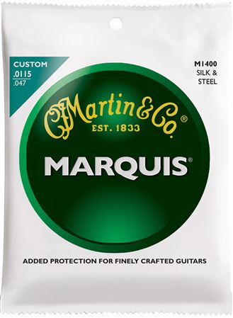 Martin 41M1400 Marquis Silk and Steel Custom Acoustic Guitar Strings
