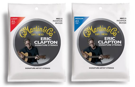 Martin Eric Clapton Signature Strings