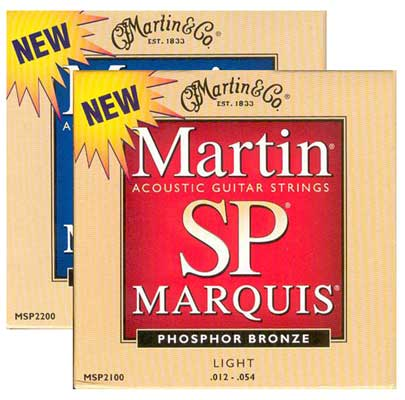Martin SP Marquis 92/8 Phosphor Bronze Acoustic Strings